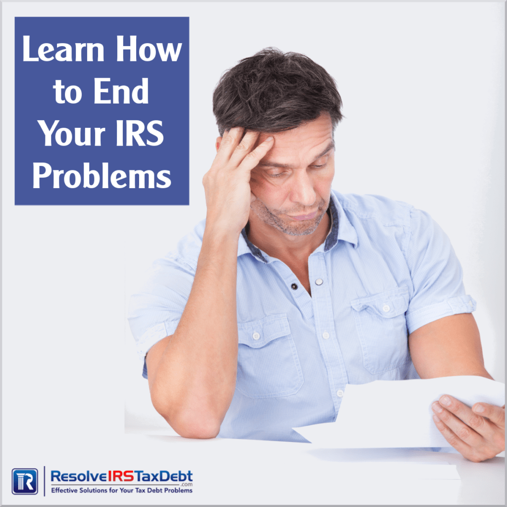 Special Report #3Learn How To End Your IRS Problems